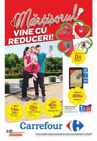Carrefour cataloage valabile incepand cu 26 februarie 2015