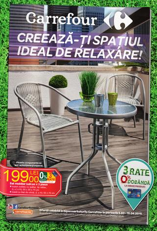 Carrefour catalog special GRADINA