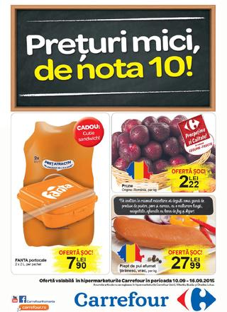 Carrefour catalog alimentare septembrie 2015