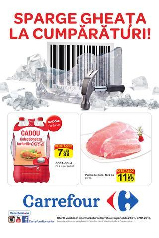 Carrefour catalog food ianuarie 2016