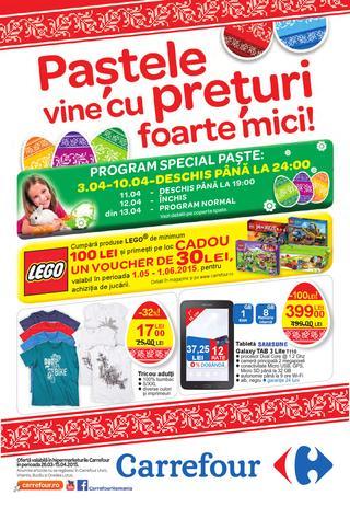 Carrefour cataloage 26 martie - 5/15 aprilie 2015
