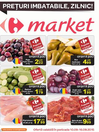 Carrefour catalog Market - 10 - 16 septembrie 2015