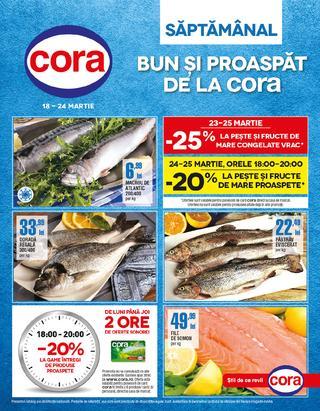 Cora catalog - Bun si proaspat - 18 - 24 martie 2015