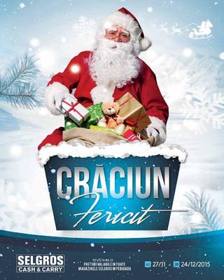 Craciun Fericit  - oferte - 27 - noiembrie - 24 decembrie 2015