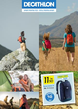 DECATHLON - oferta produse pentru camping si drumetie PV 2015