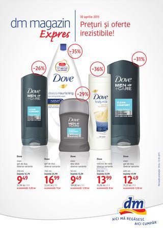 DM magazin EXPRES - catalog oferte 30 aprilie - 12 mai 2015