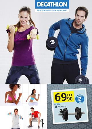 DECATHLON catalog SPORT - 28 Septembrie - 10 Octombrie 2015