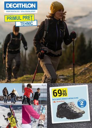 DECATHLON catalog Primul Pret Tehnic - 9-31 Octombrie 2015