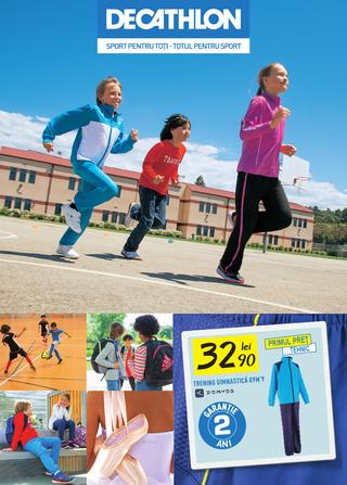 Dechatlon catalog back to school 2015
