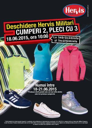 Deschidere HERVIS SPORTS Militari 18 - 21 iunie 2015