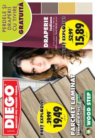 Diego catalog -70% Promotie la tapete - 1-31 Ianuarie 2016