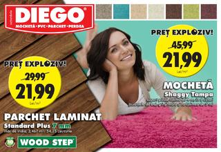 DIEGO catalog LAMINAT si MOCHETA - 1 Octombrie - 31 Octombrie 2015