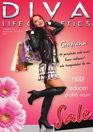 Diva Life cosmetics - online catalog 20 ianuarie - 31 martie 2014
