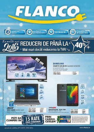 Flanco - La multi Ani 2016 ! catalog 27 decembrie - 9 ianuarie 2016