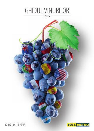 Ghidul vinurilor - Metro - 17 septembrie - 10 octombrie 2015