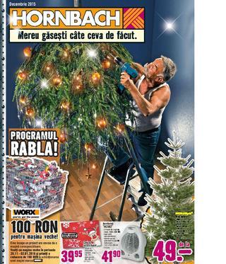 Hornbach - catalog decembrie 2015