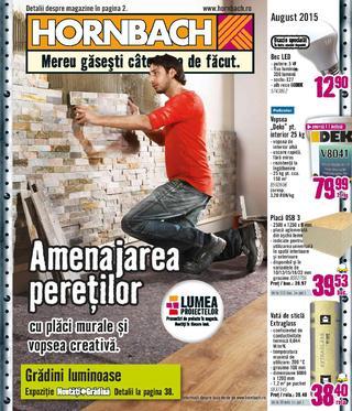 Hornbach catalog august 2015