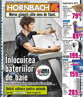 Hornbach catalog septembrie 2015
