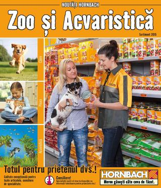 Hornbach catalog zoo acvaristica 2015
