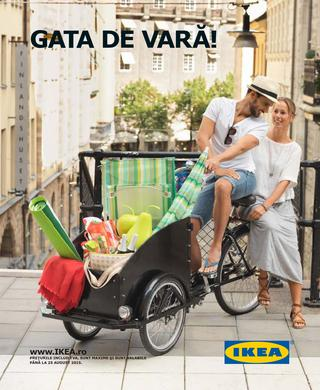 IKEA - Gata de VARA - catalog de oferte valabile pana la 25 august 2015