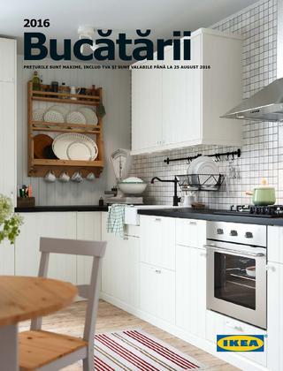 IKEA catalog Bucatarii  2016
