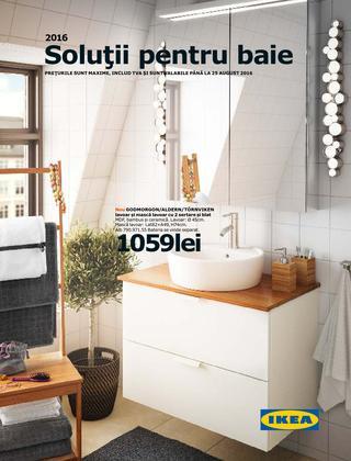 Ikea catalog solutii pentru baie 2016