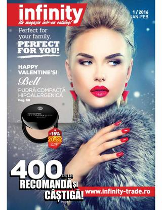 Infinity - Perfect for you - catalog #1 /2016 - 15 ianuarie - 29 februarie 2016