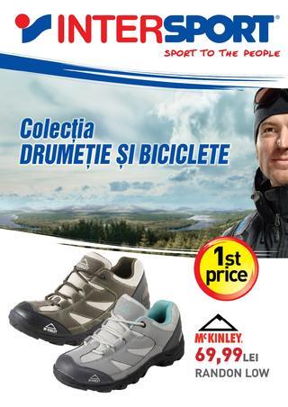 Inter SPORT - colectia drumetie si biciclete - 14 mai - 13 iunie 2015