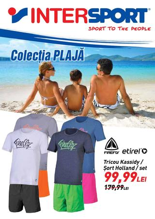 Inter SPORT - colectia plaja 11 iunie - 10 iulie 2015