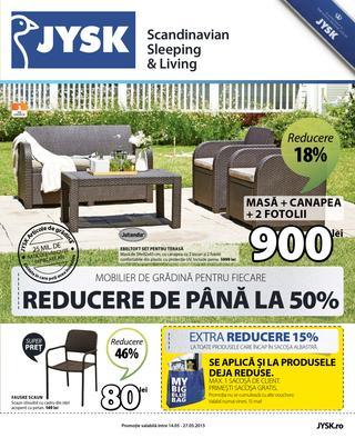 JYSK - catalog 14 - 27 mai 2015