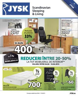 JYSK - catalog 4 - 17  iunie  2015