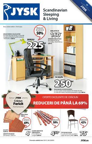 JYSK catalog Oferte Excelente de Craciun Reduceri de Pana la 69% - 10-24 Decembrie 2015