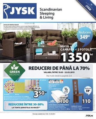 JYSK catalog 19 martie - 1 aprilie 2015
