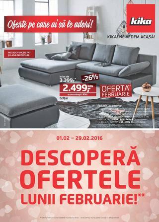 Kika catalog Descoptera Ofertele Lunii Februarie - 1-29 Februarie 2016