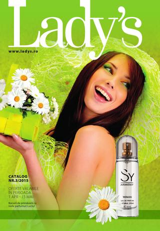 Lady`s cosmetice catalog aprilie 2015