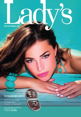 Lady`s catalog SUMMER 2 iulie - 31 august 2015