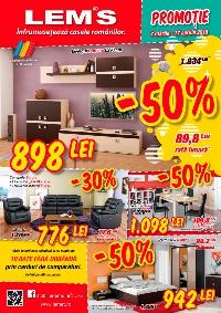 Lem's catalog Promotie -50% - 7 martie - 17 aprilie 2016