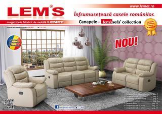 Lem`s catalog canapele incepand cu 4 mai 2015