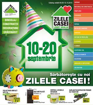 Leroj Merlin catalog septembrie oktombrie 2015