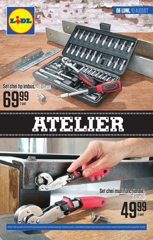 Lidl catalog Ateler august 2015