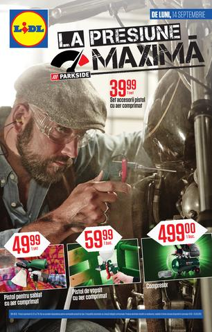 Lidl catalog MAXIMA septembrie 2015