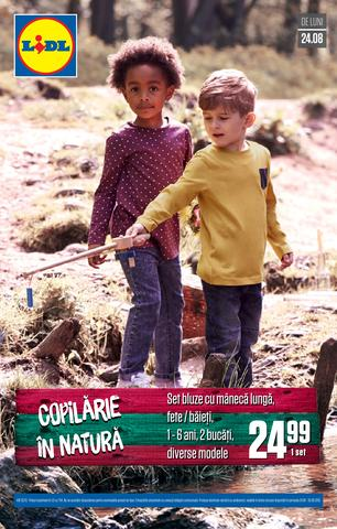 Lidl revista copilare august 2015