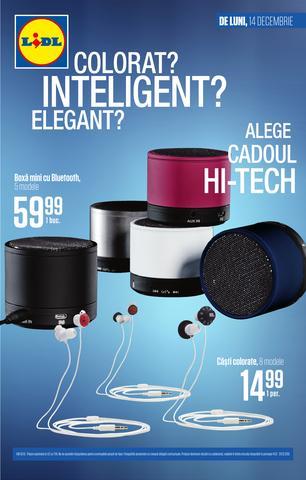 LIDL catalog Colorat inteligent elegant Hi-Tech - 14-20 Decembrie 2015