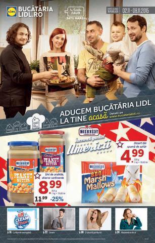LIDL revista Aducem Bucataria La Tine Acasa - 2-8 Noiembrie 2015