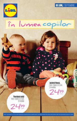 Lidl catalog septembrie 2015
