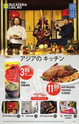 Lidl catalog produse alimentare si non-alimentare 8 - 14 februarie 2016