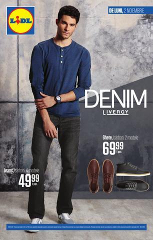LIDL catalog DENIM - 2 Noiembrie - 8 Noiembrie 2015