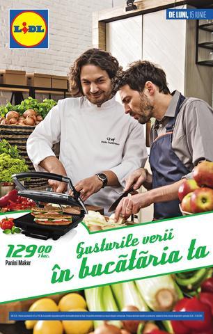 Lidl oferta produse nonalimentare 15 - 21 iunie 2015