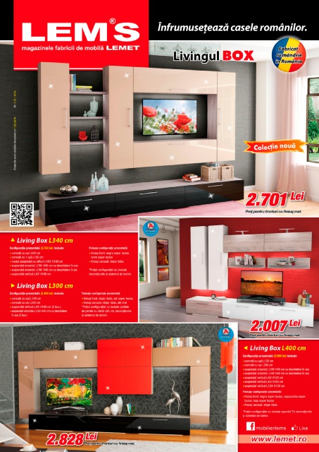 Lems catalog living box februarie 2016
