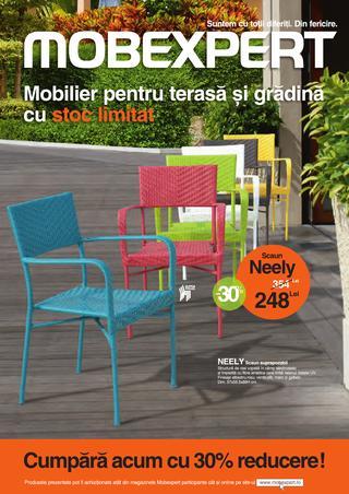 MOBEXPERT - catalog mobilier pentru terasa si gradina 26 martie - 31 iulie 2015